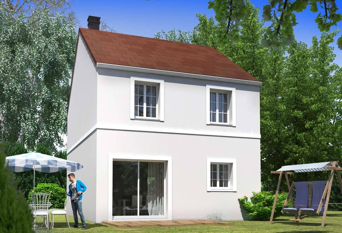 Maison individuelle 107 for Modele de maison individuelle