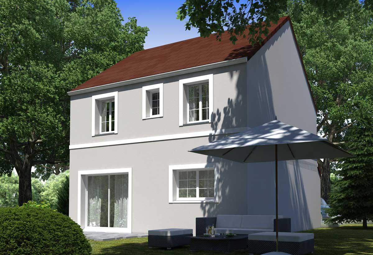 Rendu 2 de la maison individuelle Habitat Concept 108