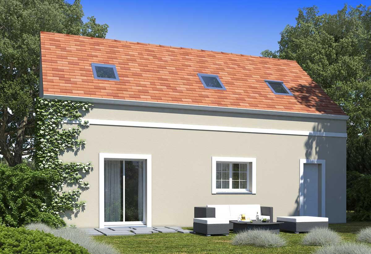 Plan maison 4 chambres Lesmaisons.com 109