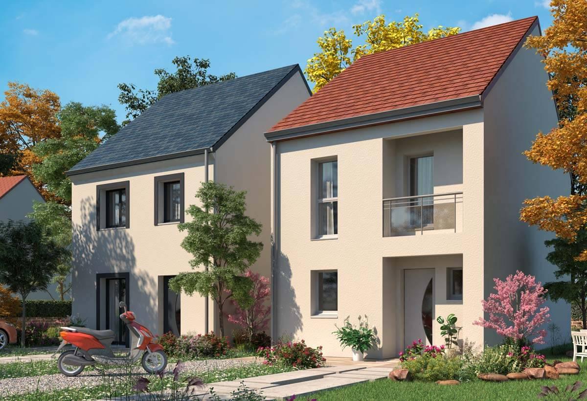 Plan maison 3 chambres Lesmaisons.com 121