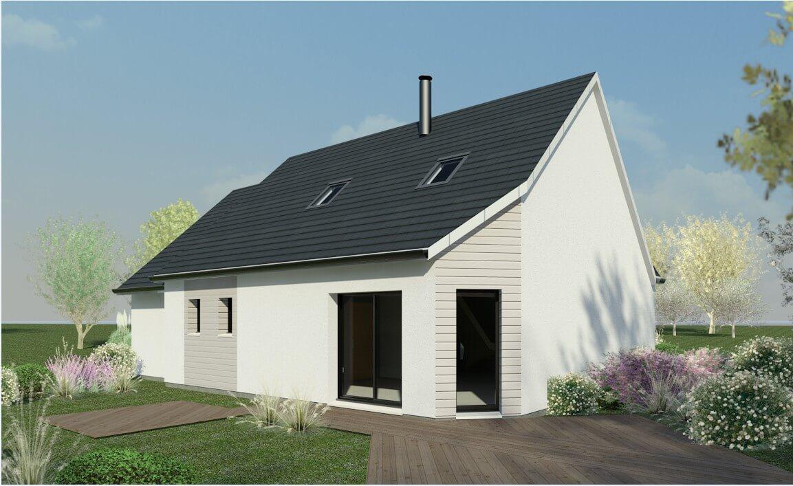 Rendu 2 de la maison individuelle Habitat Concept 16