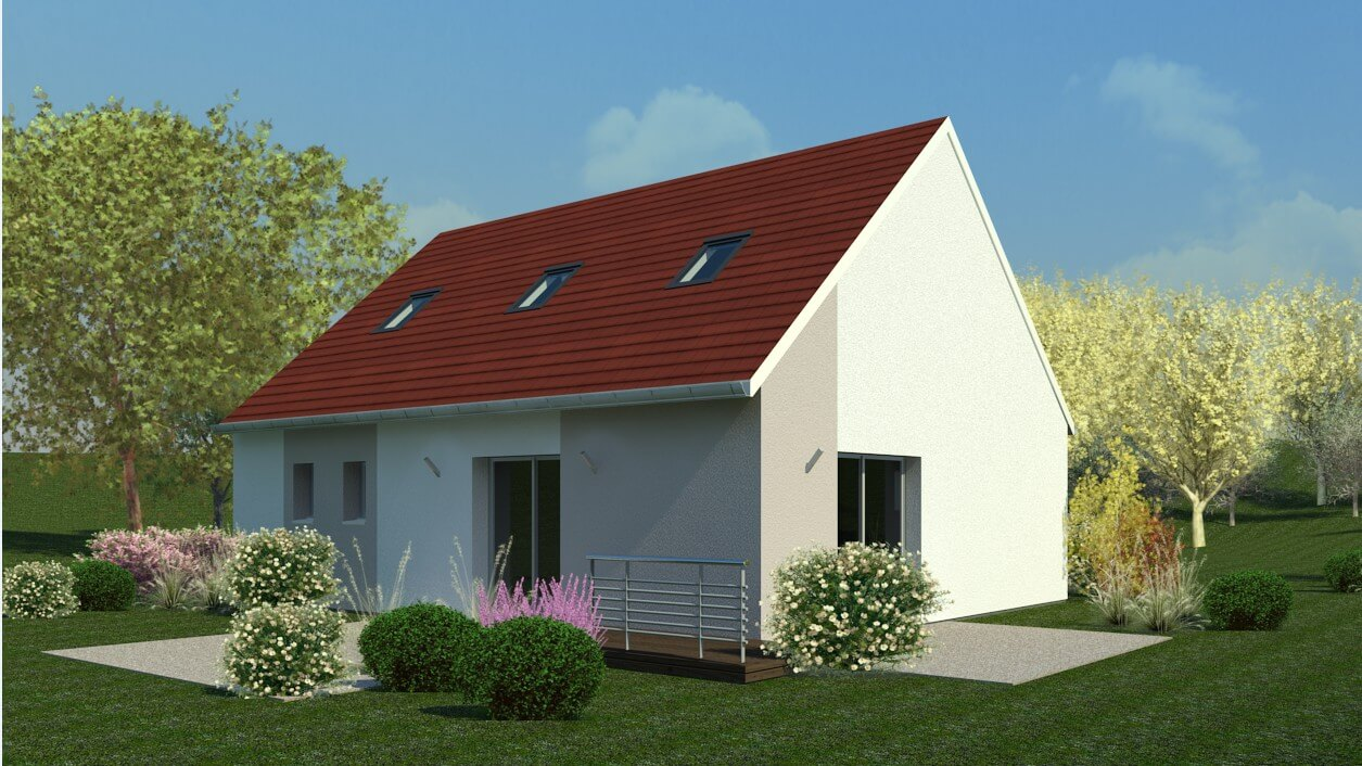 Rendu 2 de la maison individuelle Habitat Concept 18