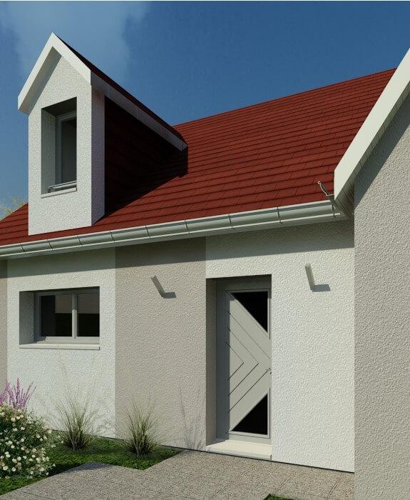 Rendu 5 de la maison individuelle Habitat Concept 18