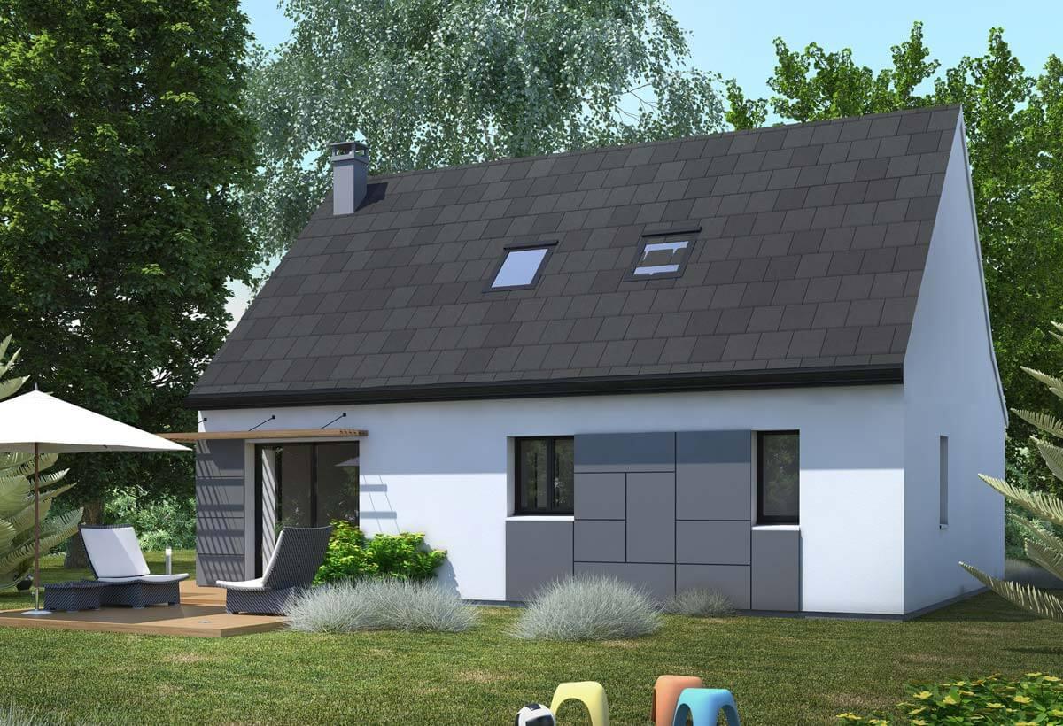 plan maison individuelle 3 chambres 20 habitat concept. Black Bedroom Furniture Sets. Home Design Ideas