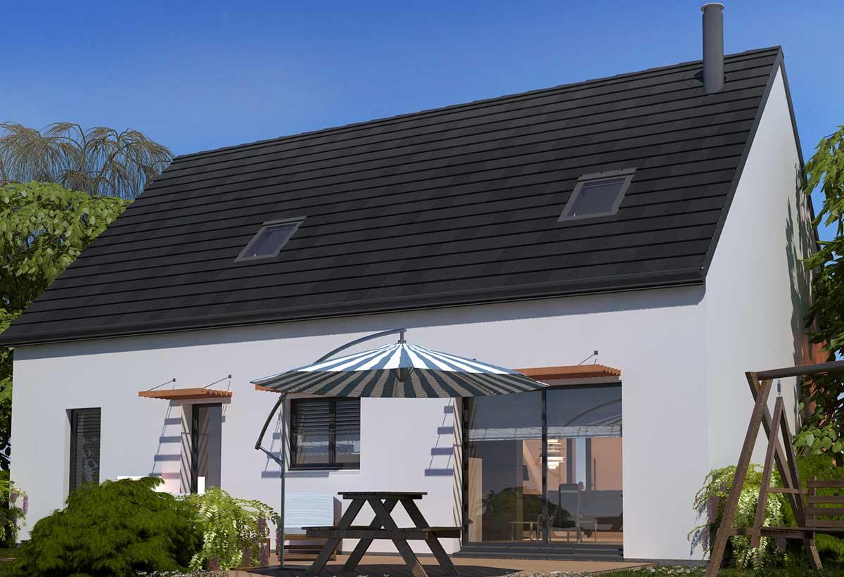 Plan maison 3 chambres Lesmaisons.com 23