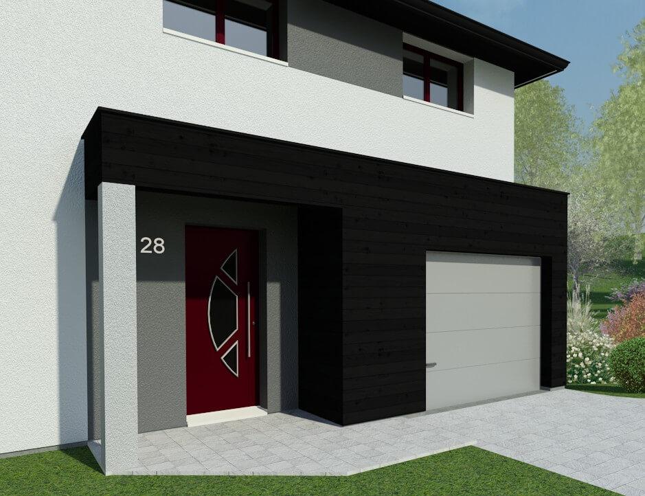 Plan maison 4 chambres Résidence Picarde 28