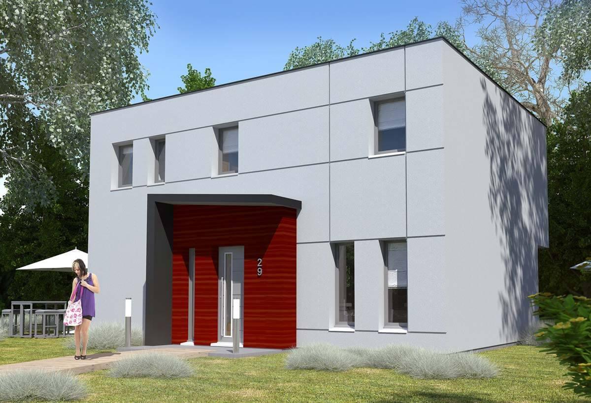 Rendu 1 de la maison individuelle Habitat Concept 29