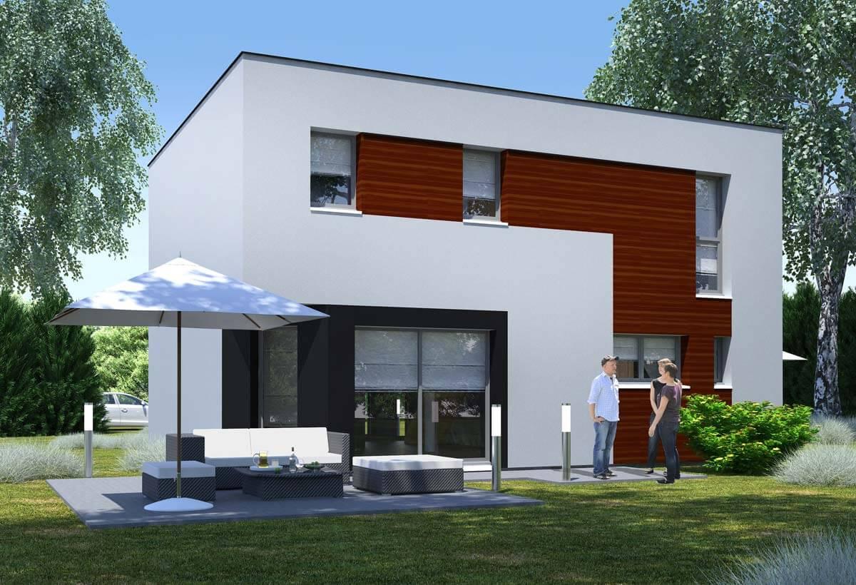 Plan maison 5 chambres Résidence Picarde 29