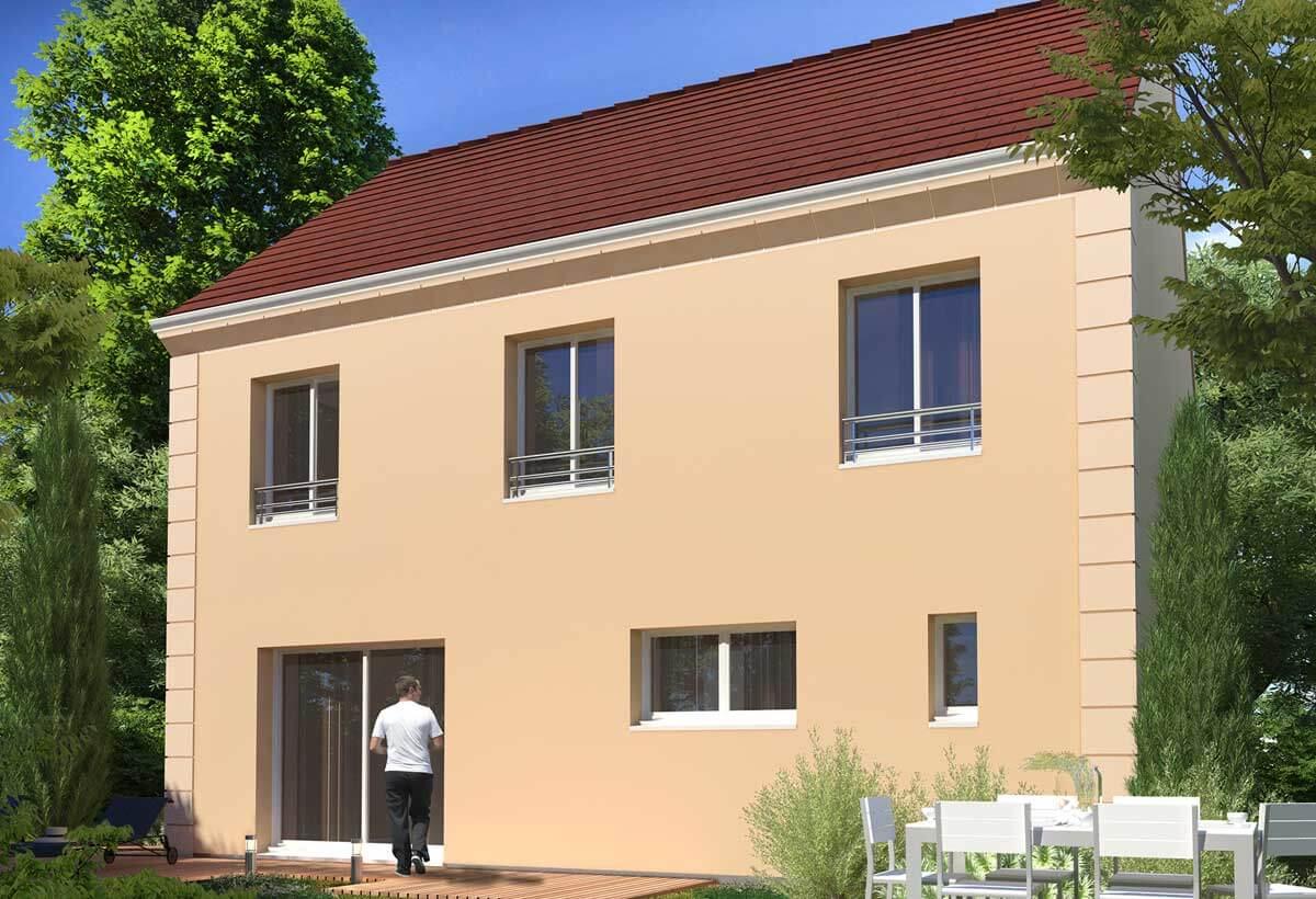 Plan Maison Individuelle 5 Chambres 29b Habitat Concept