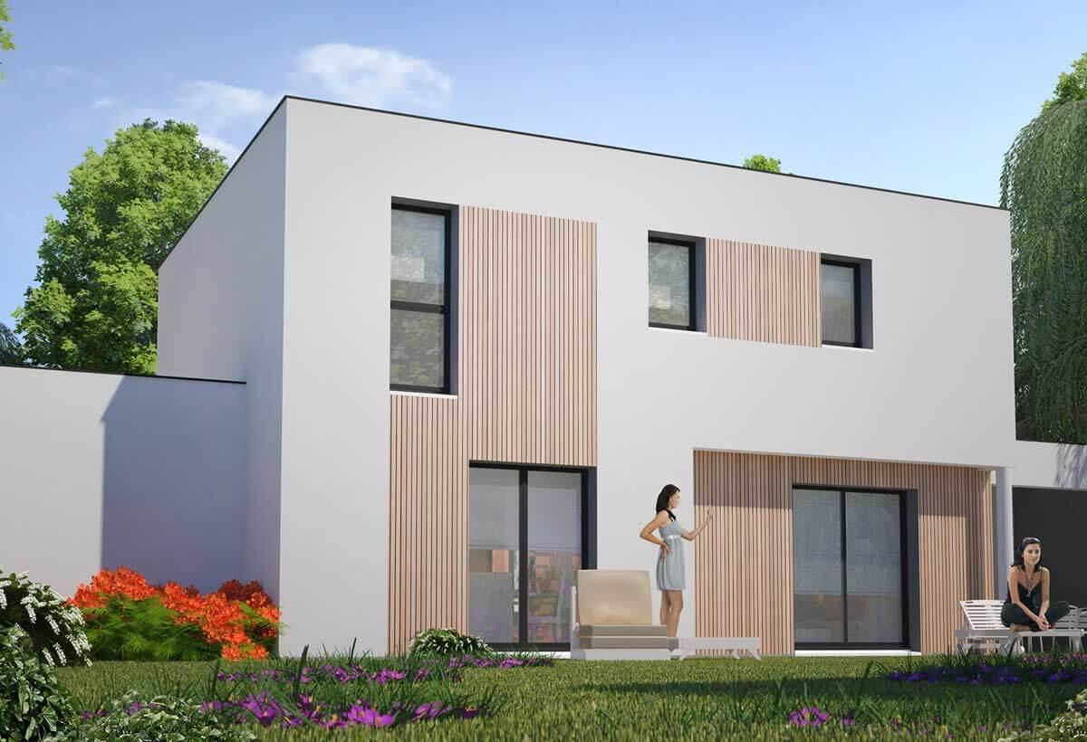 Rendu 2 de la maison individuelle Habitat Concept 31