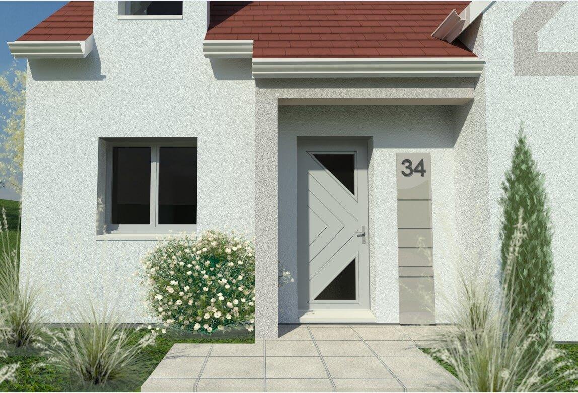 Rendu 2 de la maison individuelle Habitat Concept 34