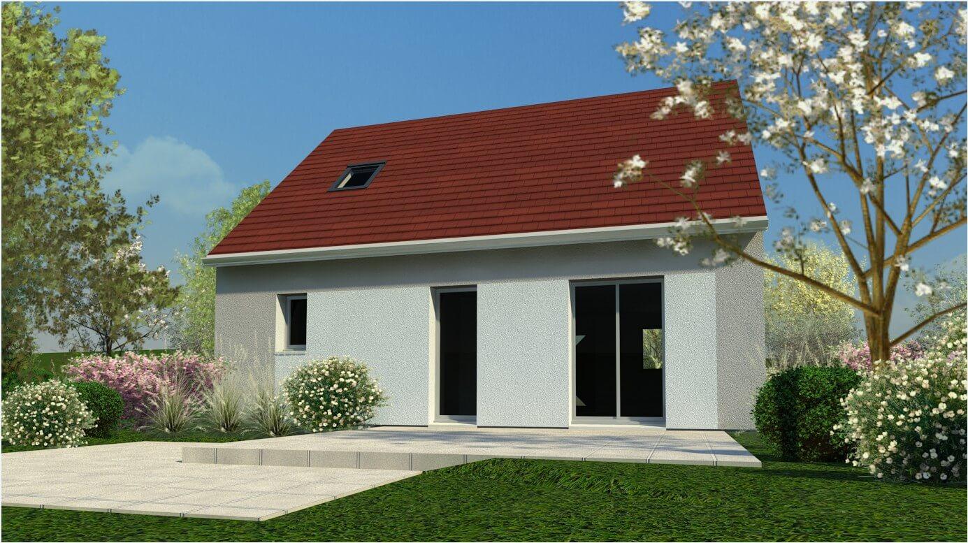 Rendu 5 de la maison individuelle Lesmaisons.com 34