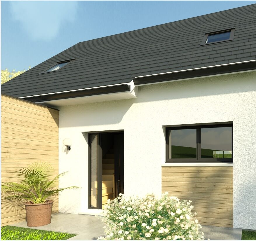 Rendu 2 de la maison individuelle Habitat Concept 38