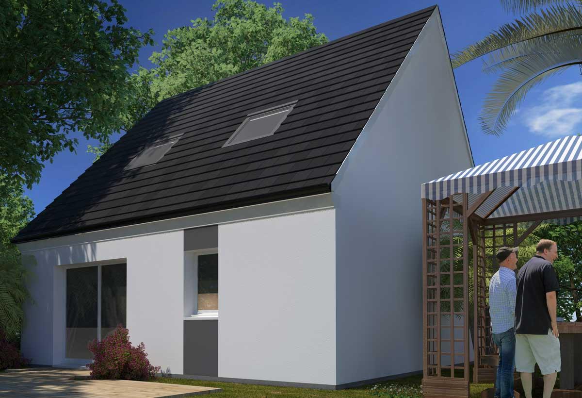 Rendu 2 de la maison individuelle Lesmaisons.com 40