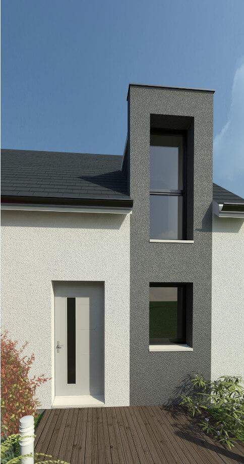 Plan maison individuelle 3 chambres 40 habitat concept for Modele maison habitat concept