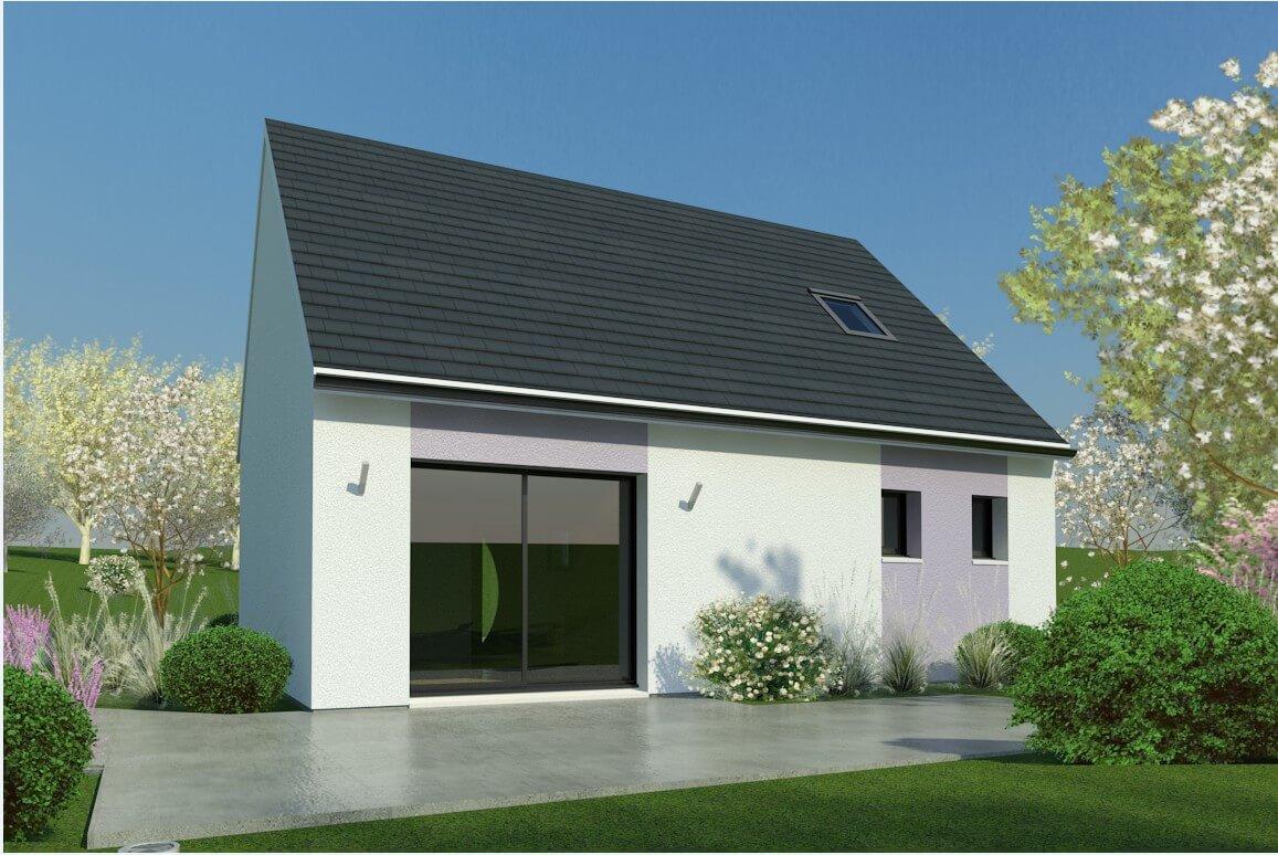 Plan maison 2 chambres Lesmaisons.com 41