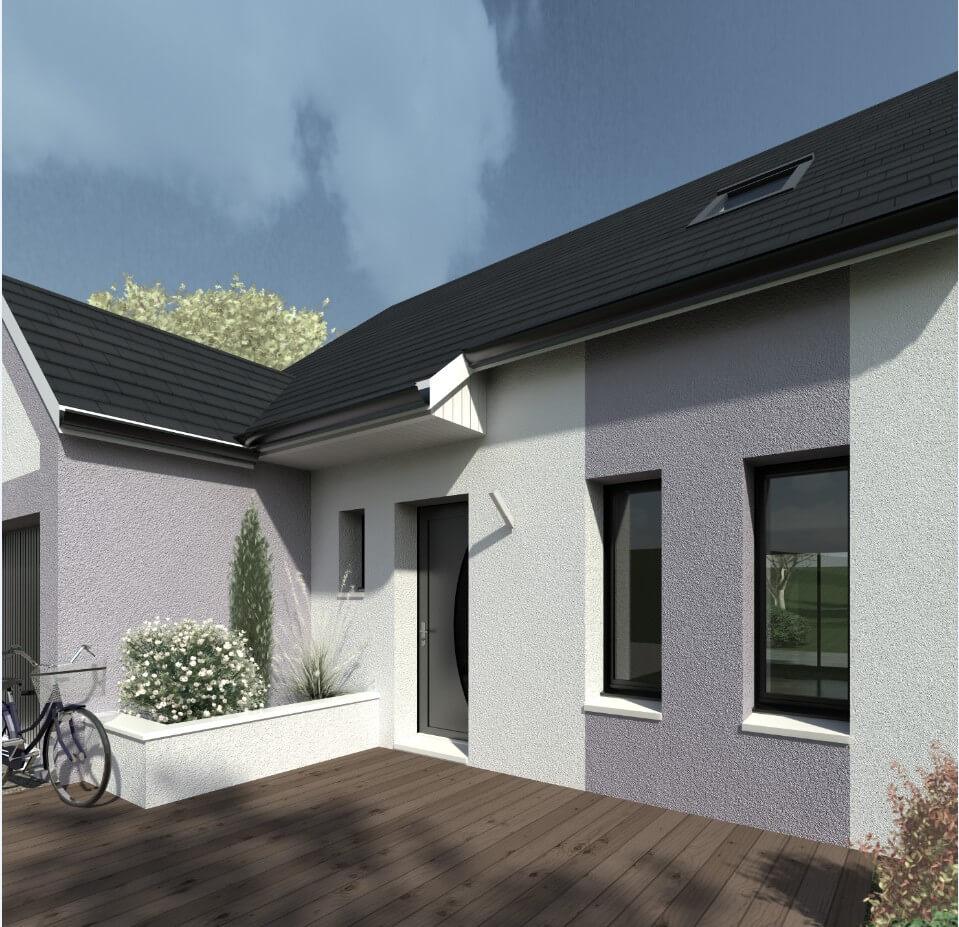 Rendu 5 de la maison individuelle Habitat Concept 41