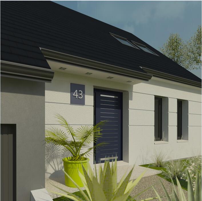 Rendu 5 de la maison individuelle Habitat Concept 43
