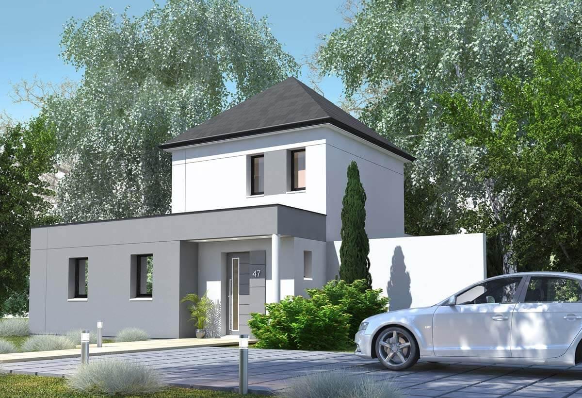 Rendu 1 de la maison individuelle Habitat Concept 47