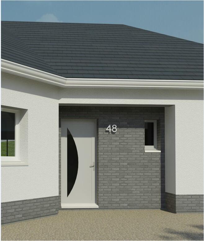 Plan maison 3 chambres Lesmaisons.com 48