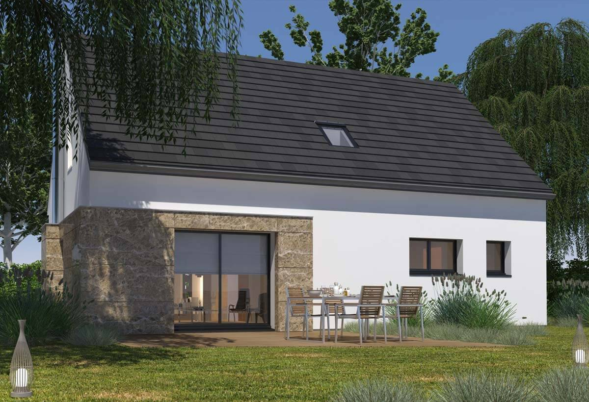 Plan maison 4 chambres Lesmaisons.com 52