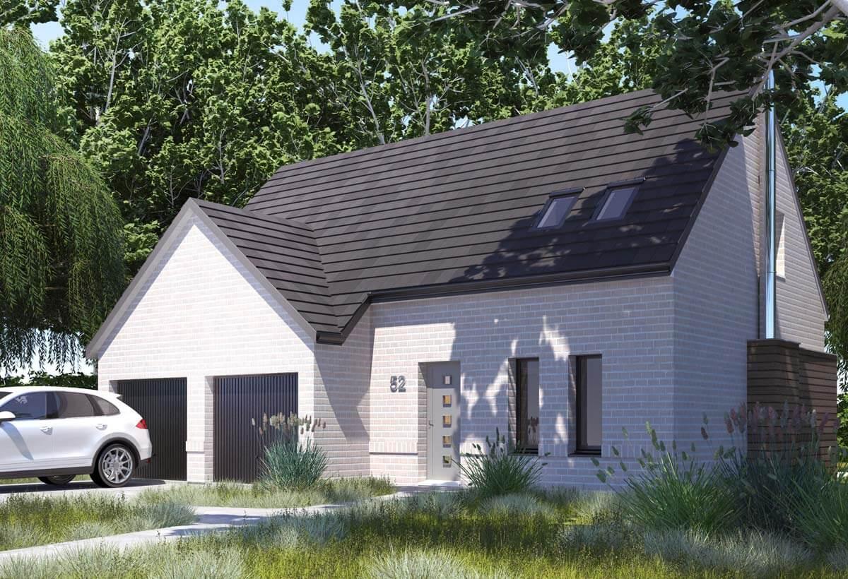 Rendu 5 de la maison individuelle Habitat Concept 52