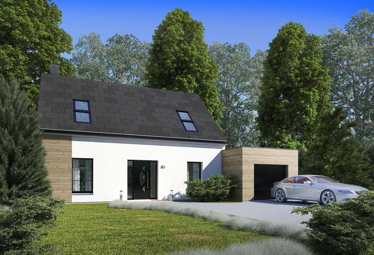 Maison individuelle r sidence picarde 61 r sidences picardes for Modele maison individuelle