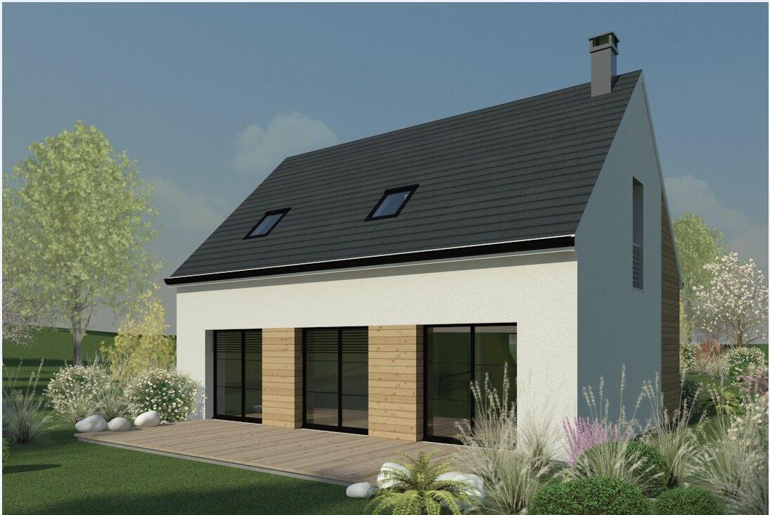 Rendu 5 de la maison individuelle Habitat Concept 61