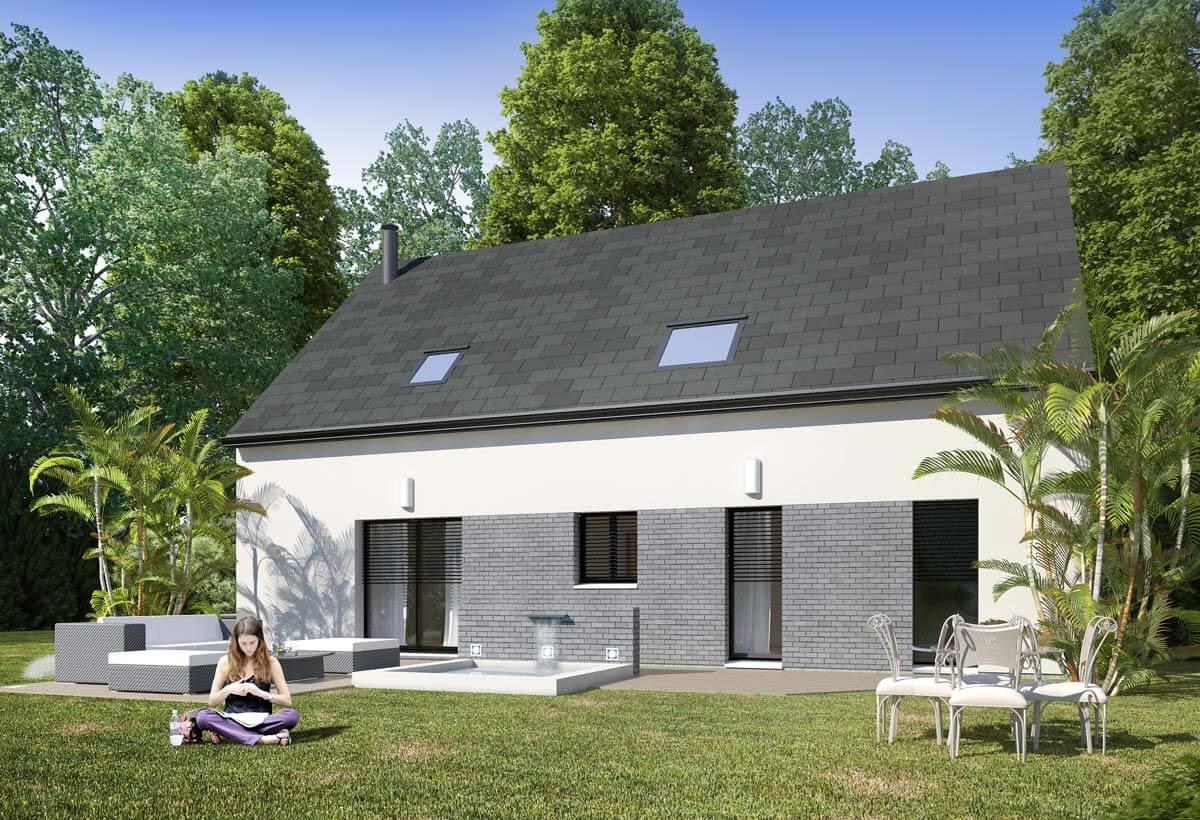 Rendu 2 de la maison individuelle Lesmaisons.com 66