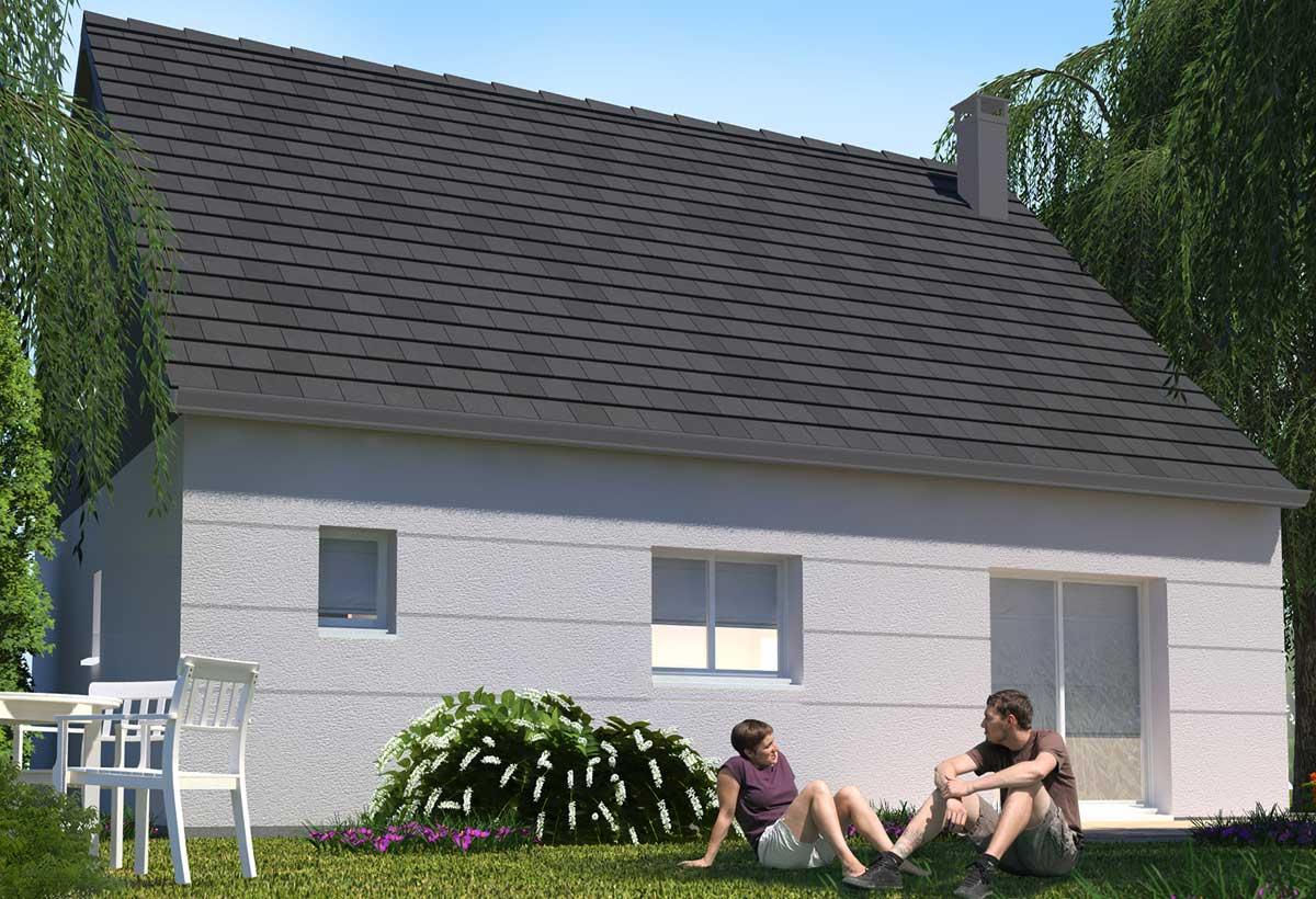Rendu 5 de la maison individuelle Habitat Concept 74