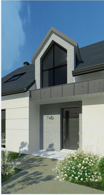 Rendu 2 de la maison individuelle Habitat Concept 74b