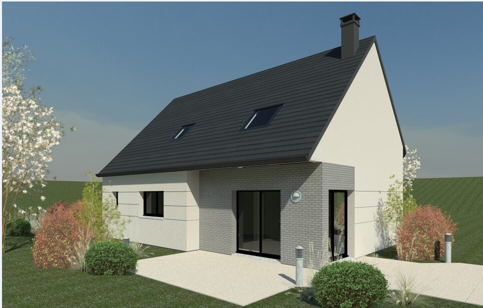Rendu 5 de la maison individuelle Habitat Concept 74b