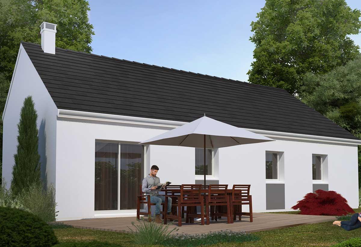 Rendu 5 de la maison individuelle Habitat Concept 75