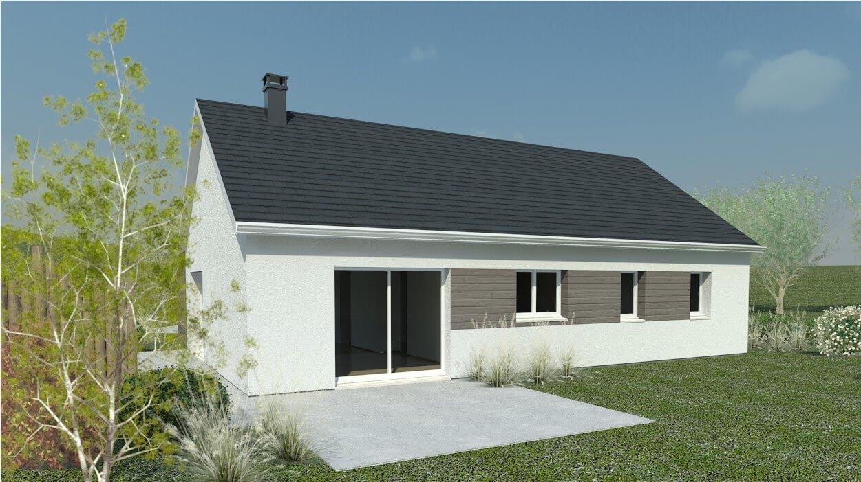 Plan maison 4 chambres HC 78