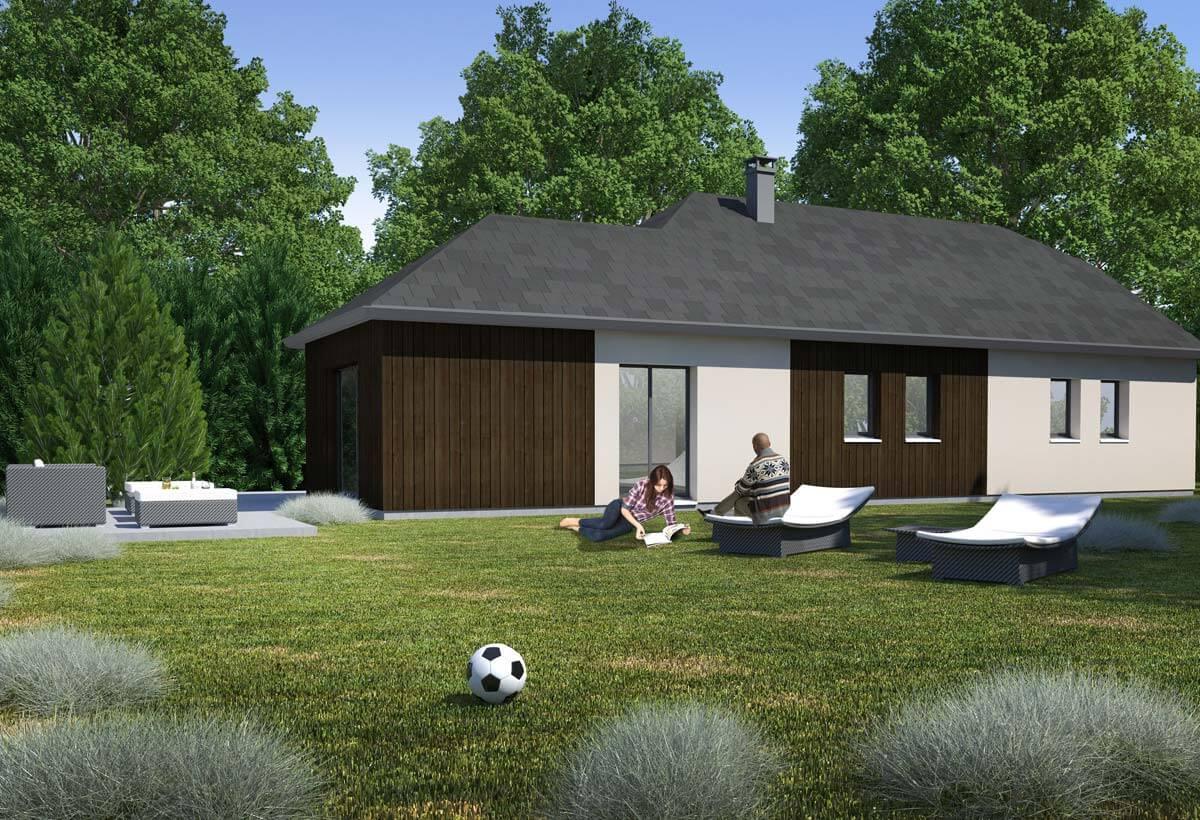Rendu 2 de la maison individuelle Habitat Concept 79