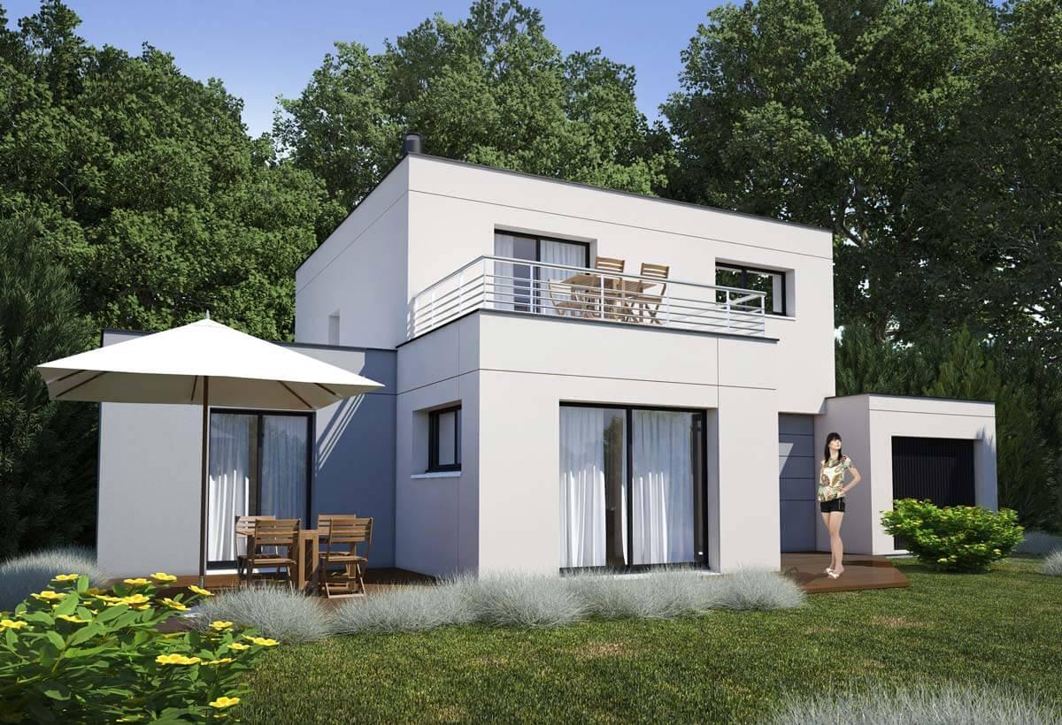 Plan maison 4 chambres Lesmaisons.com 82