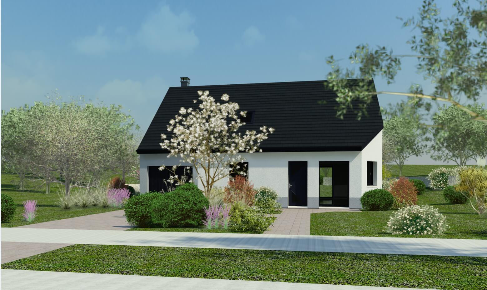 Rendu 5 de la maison individuelle Habitat Concept 95