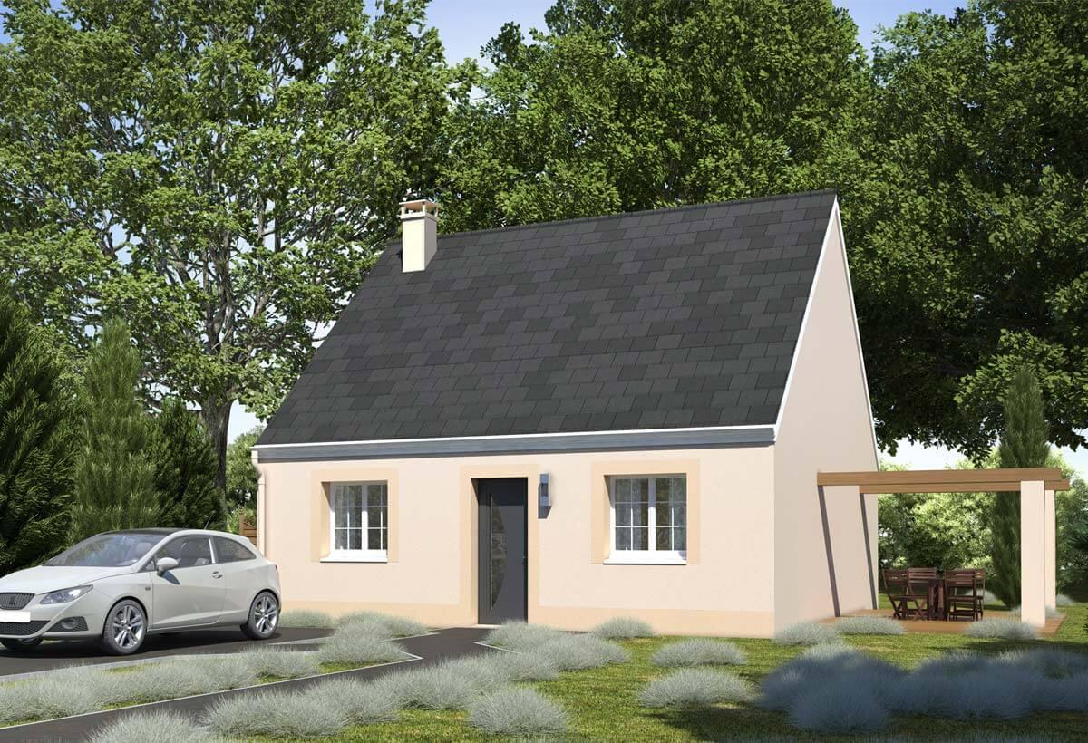 Rendu 5 de la maison individuelle Habitat Concept 96