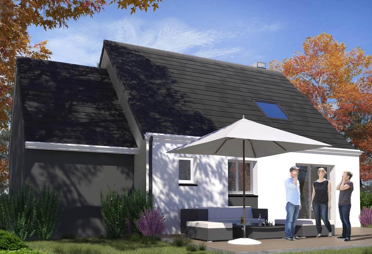 Rendu 2 de la maison individuelle Habitat Concept 98