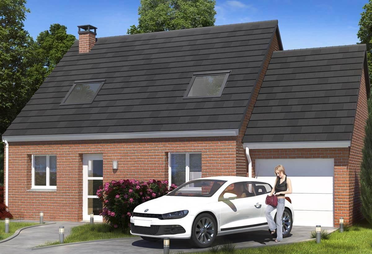 Maison individuelle 98 for Modele de maison individuelle