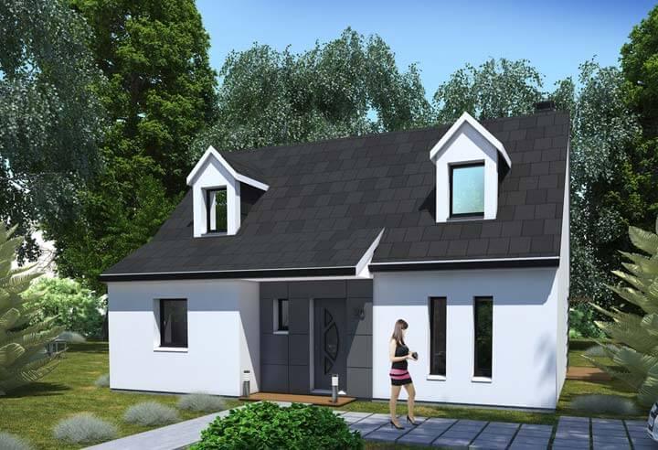 Modèle et plan de maison Habitat Concept n°20