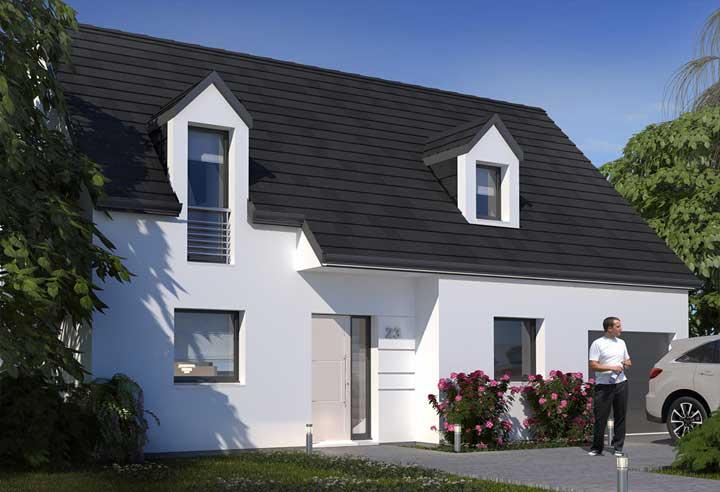 Modèle et plan de maison Habitat Concept n°23