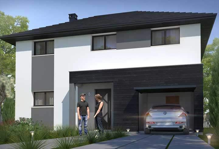 Modèle et plan de maison Habitat Concept n°28