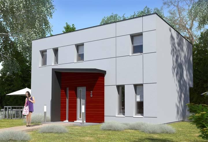 Modèle et plan de maison Habitat Concept n°29