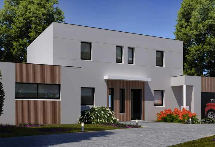 Modeles Plans De Maisons Contemporaines Habitat Concept