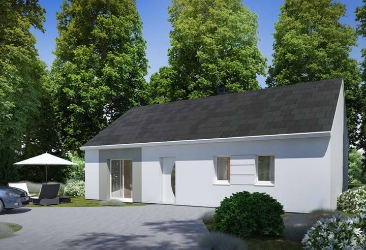 Modèle et plan de maison Habitat Concept n°37