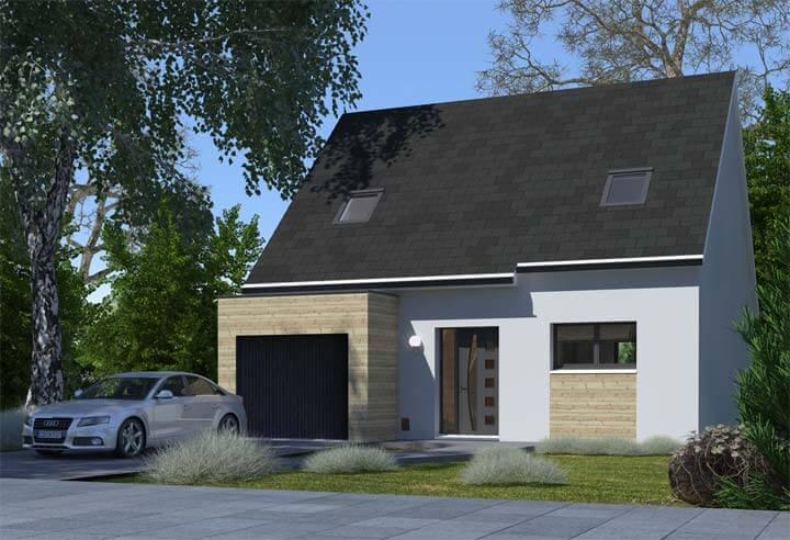 Modèle et plan de maison Habitat Concept n°38