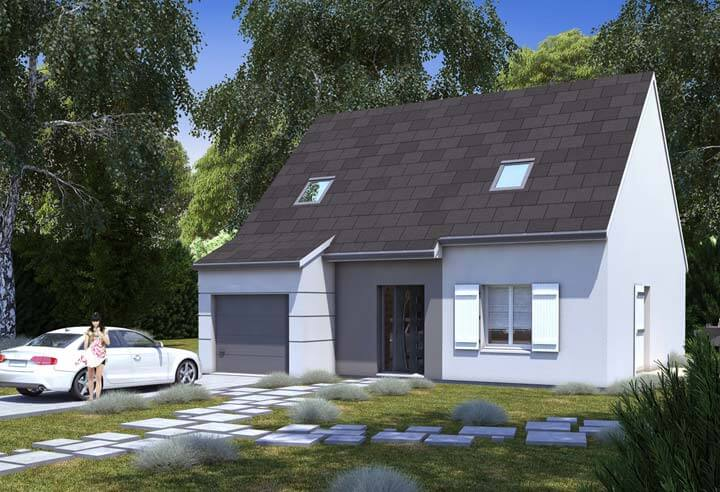 Modèle et plan de maison Habitat Concept n°39