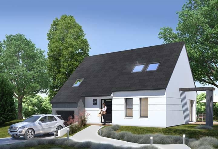 Modèle et plan de maison Habitat Concept n°43
