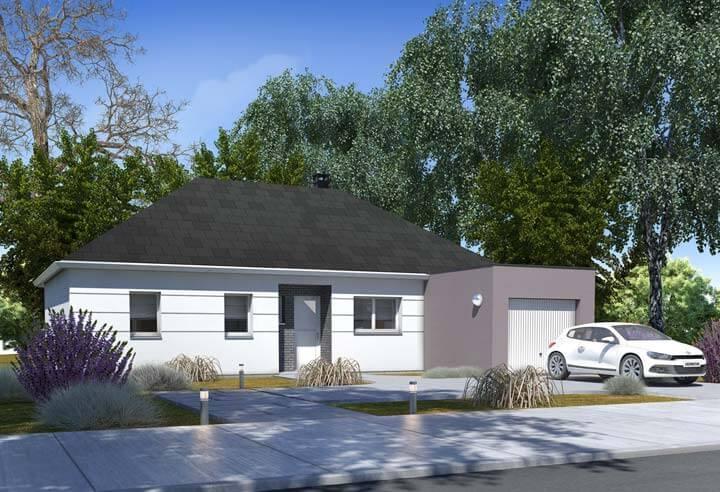 Modèle et plan de maison Habitat Concept n°51